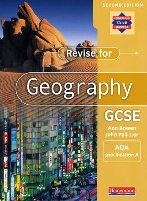 A Revise for Geography GCSE: AQA specification