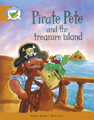 Literacy Edition Storyworlds Stage 4, Fantasy World Pirate Pete and the Treasure Island 6 Pack