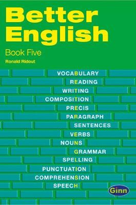 Better English Book 5 (International) 2nd Edition - Ronald Ridout