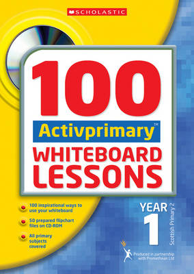 100 ACTIVprimary Whiteboard Lessons Year 1 with CDRom