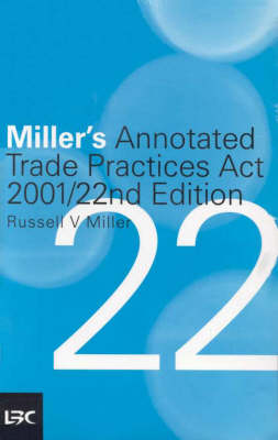 Miller's Annotated Trade Practices Act 2001