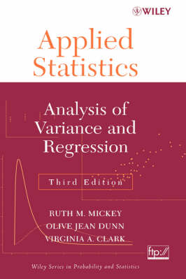 Applied Statistics: Analysis of Variance and Regression