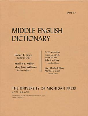 Middle English Dictionary: T.7