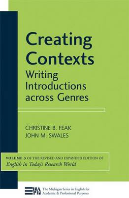 Creating Contexts: Writing Introductions Across Genres