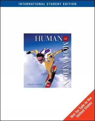 Human Motivation, International Edition (with InfoTrac)