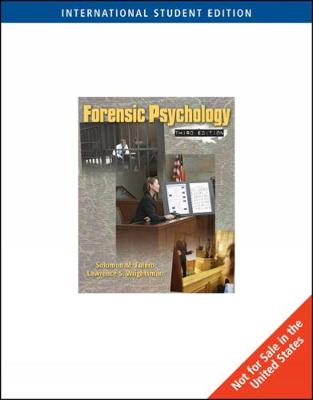 Forensic Psychology, International Edition