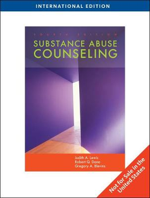 Substance Abuse Counseling, International Edition