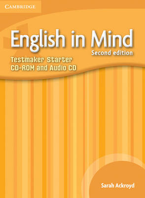 English in Mind Starter Level Testmaker CD-ROM and Audio CD