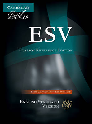ESV Clarion Reference Edition ES486:XE Black Goatskin Leather