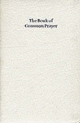 BCP White Gift Edition Book of Common Prayer White French Morocco leather 603W
