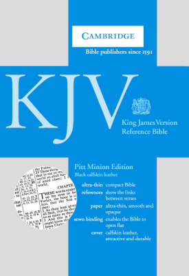 KJV Pitt Minion Reference Bible Black Calfskin Leather KJ187