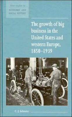 New Studies in Economic and Social History: Series Number 23: The Growth of Big Business in the United States and Western Europe, 1850-1939