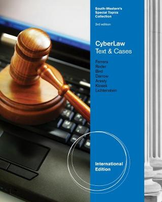 CyberLaw: Text and Cases, International Edition