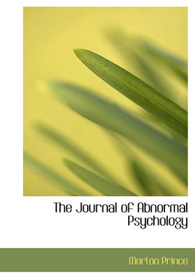 The Journal of Abnormal Psychology