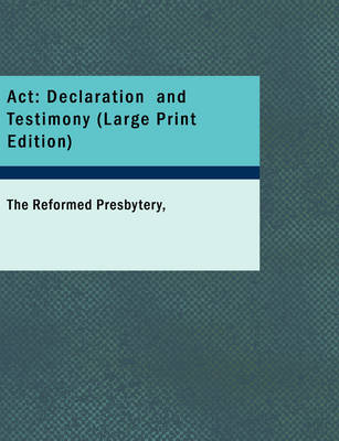 ACT Declaration and Testimony