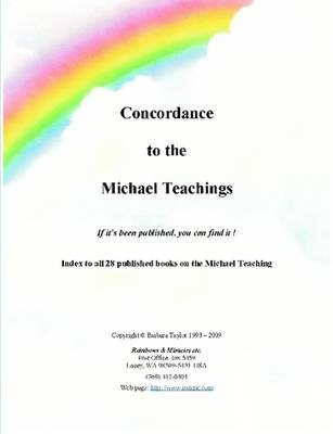 Concordance to the Michael Teachings