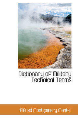 Dictionary of Military Technical Terms