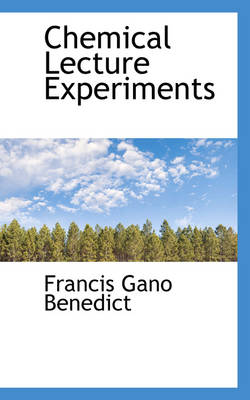 Chemical Lecture Experiments