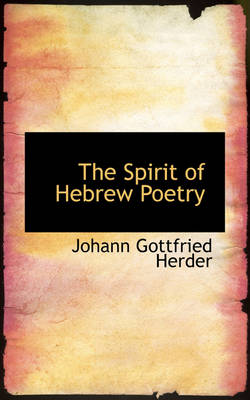The Spirit of Hebrew Poetry