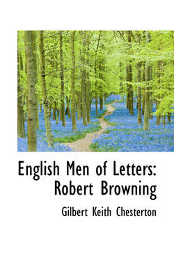 English Men of Letters: Robert Browning