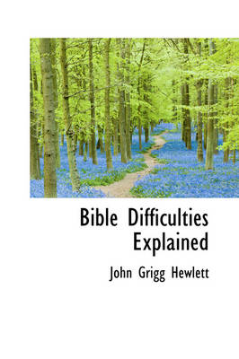 Bible Difficulties Explained