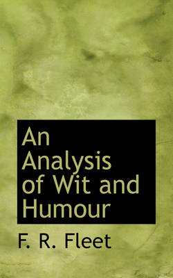 An Analysis of Wit and Humour