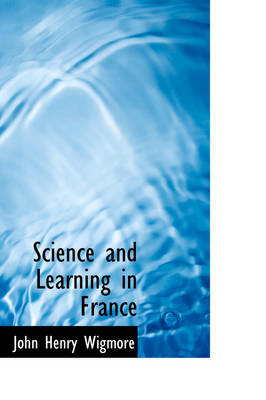 Science and Learning in France