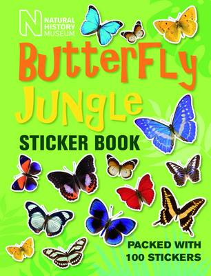 Butterfly Jungle Sticker Book