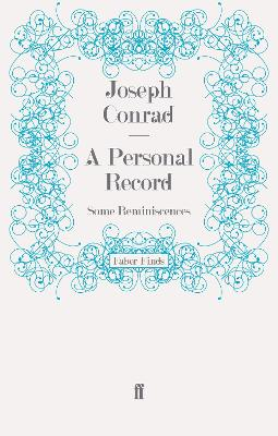 A Personal Record: Some Reminiscences