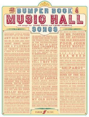 Bumper Book Of Music Hall Songs