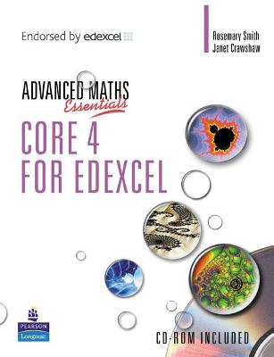 A Level Maths Essentials Core 4 for Edexcel Book and CD-ROM