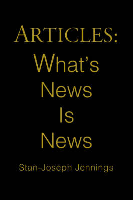 Articles: What's News Is News