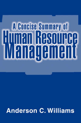 A Concise Summary of Human Resource Management