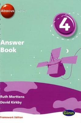 Abacus Evolve Year 4/P5 Answer Book Framework Edition