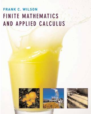 Finite Mathematics and Applied Calculus: Student Text
