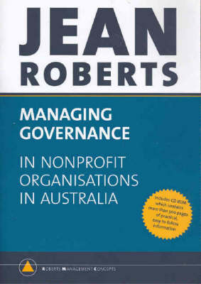 Managing Governance in Non-profit Organisations in Australia