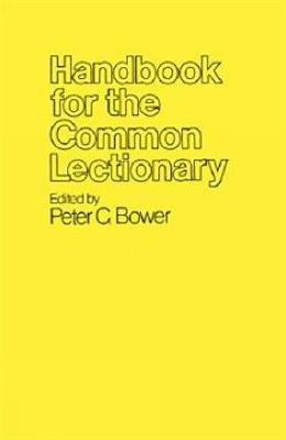Handbook for the Common Lectionary