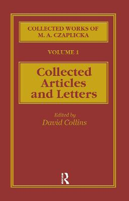 The Collected Works of M. A. Czaplicka