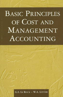 Basic Principles of Costs & Management Accounting