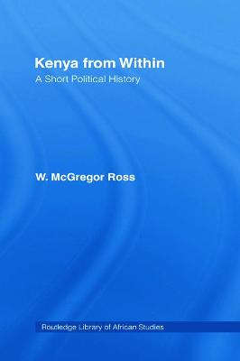 Kenya from Within: A Short Political History