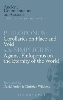 Corollaries on Place and Void: Against Philoponus on the Eternity of the World