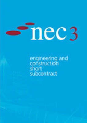 Nec3 Engineering and Construction Short Subcontract