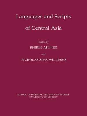 Languages and Scripts of Central Asia