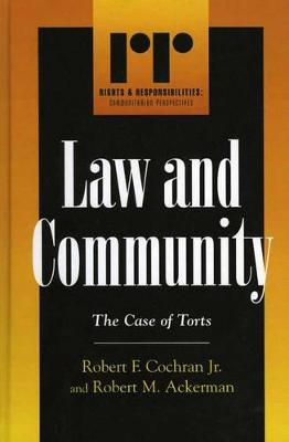 Law and Community: The Case of Torts