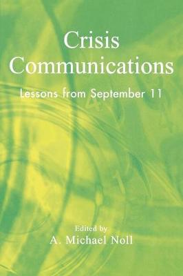 Crisis Communications: Lessons from September 11