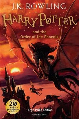 Harry Potter and the Order of the Phoenix (Large print)