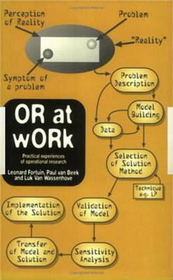 OR At Work: Case Studies On The Application Of OR In Industry, Service, Agriculture And health care