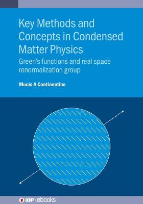 Key Methods and Concepts in Condensed Matter Physics: Green's Functions and Real Space Renormalization Group