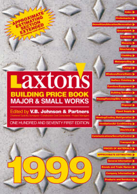 Laxton's Building Price Book: Major and Small Works
