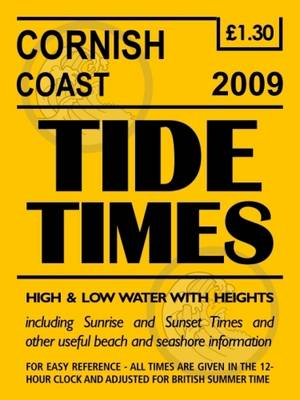 Cornish Coast Tide Timetable: 2009
